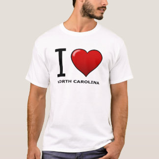 I LOVE NORTH CAROLINA T-Shirt