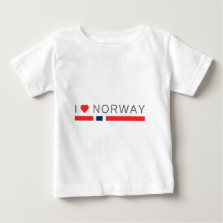 I love Norway Baby T-Shirt
