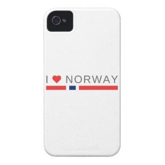 I love Norway iPhone 4 Case