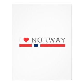 I love Norway Letterhead