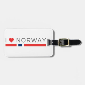 I love Norway Luggage Tag