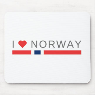 I love Norway Mouse Pad