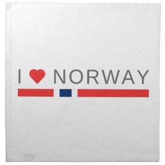 I love Norway Napkin