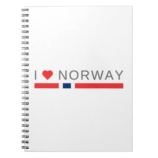 I love Norway Notebook