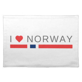 I love Norway Placemat