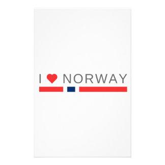 I love Norway Stationery