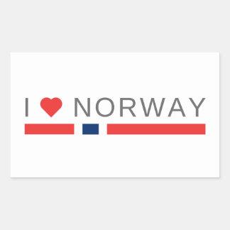 I love Norway Sticker