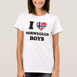 I love Norwegian Boys T-Shirt