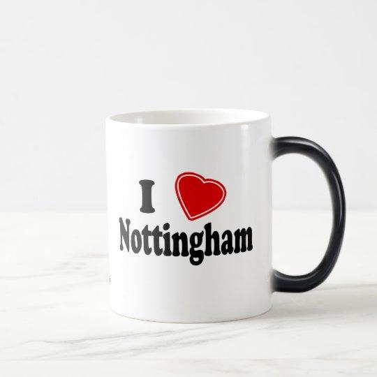 I Love Nottingham Magic Mug
