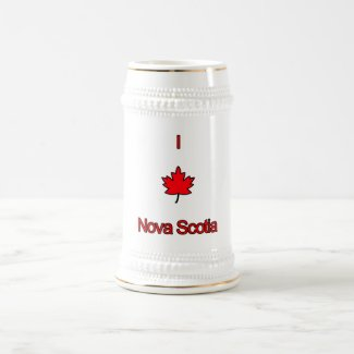 I Love Nova Scotia Beer Steins