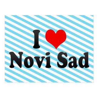 I Love Novi Sad, Serbia Postcard