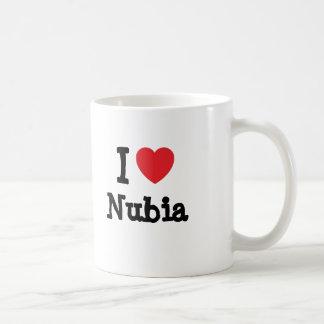 I love Nubia heart T-Shirt Coffee Mug