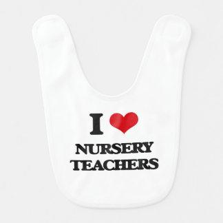 I love Nursery Teachers Bibs
