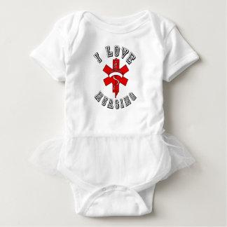 i love nursing health baby bodysuit