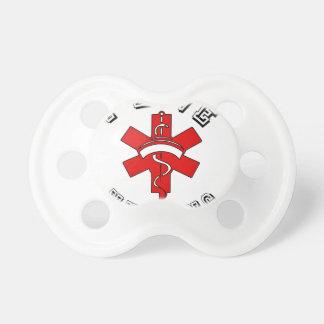 i love nursing health pacifier