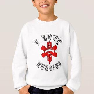 i love nursing health sweatshirt