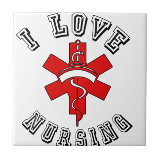 i love nursing health tile