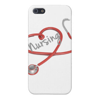 I Love Nursing iPhone Case iPhone 5/5S Cover