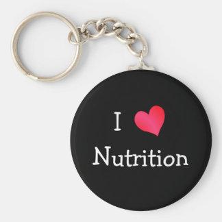 I Love Nutrition Keychain