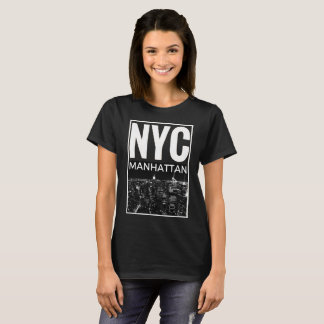 I Love NYC New York Manhattan skyline T-Shirt