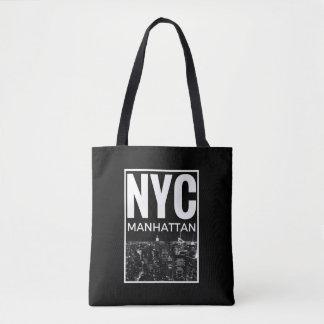 I Love NYC New York Manhattan skyline Tote Bag