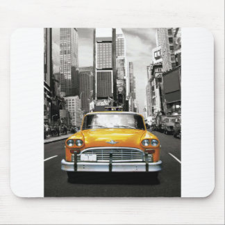 I Love NYC - New York Taxi Mouse Pad
