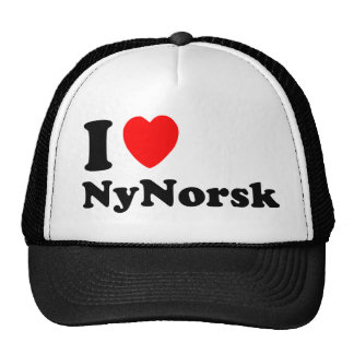 I love Nynorsk Trucker Hat
