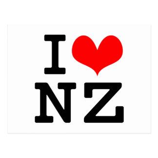 I Love NZ Postcard
