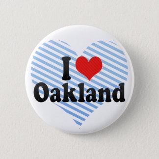 I Love Oakland 2 Inch Round Button