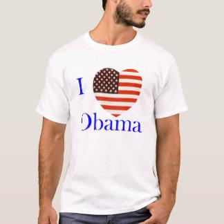 I Love Obama Custom T-Shirt