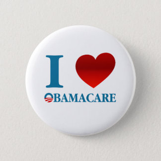 I Love Obamacare 2 Inch Round Button