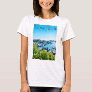 I love Oban,personalized Tshirt