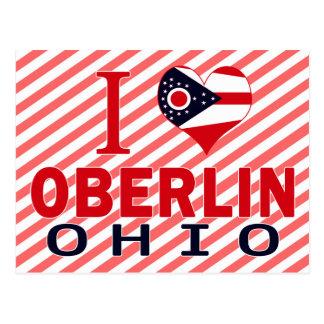 I love Oberlin, Ohio Postcard