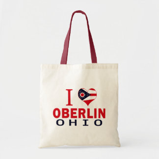 I love Oberlin, Ohio Tote Bag