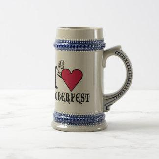 I love Octoberfest Beer Stein