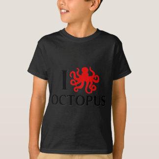 I Love Octopus T-Shirt