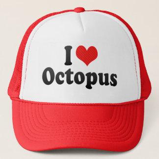 I Love Octopus Trucker Hat