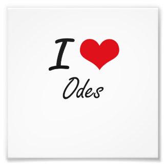 I Love Odes Photo