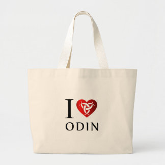 I love Odin Large Tote Bag