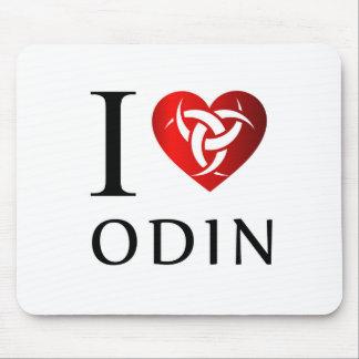 I love Odin Mouse Pad