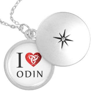 I love Odin Silver Plated Necklace