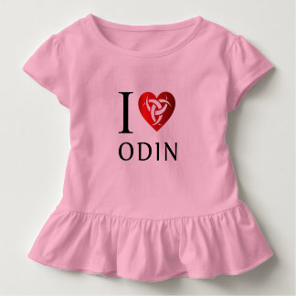 I love Odin Toddler T-shirt