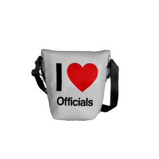 i love officials commuter bags