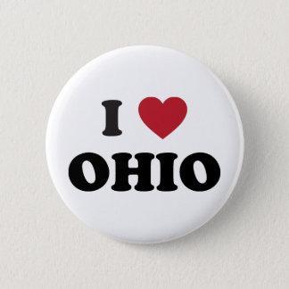 I love Ohio 2 Inch Round Button