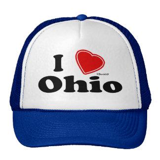 I Love Ohio Mesh Hat
