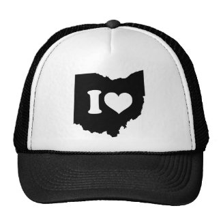 I Love Ohio Trucker Hat