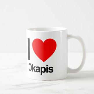 i love okapis coffee mug