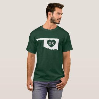 I Love Oklahoma State Men's Basic Dark T-Shirt