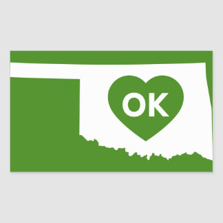 I Love Oklahoma State Stikers Sticker