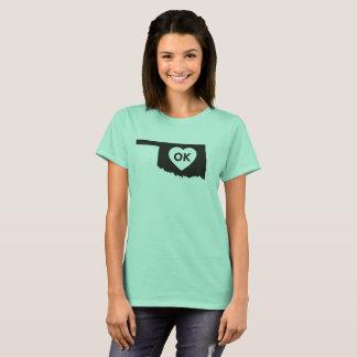 I Love Oklahoma State Women's Basic T-Shirt